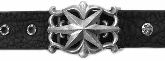 Justice For All Star Buckle