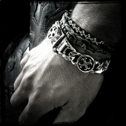 Perfect Collateral Chris James O.G. Cross Bracelet