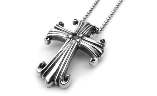 Medium Morphine Ferry True Cross Pendant