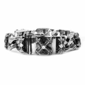 Perfect Collateral N.C. Cross Bracelet with Diamonds