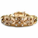 Tawdry Fleur E.C. Heavy Bracelets in White or Yellow Gold