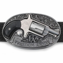 Soffer Ari Freedom Arms .22 Caliber Revolver Buckle