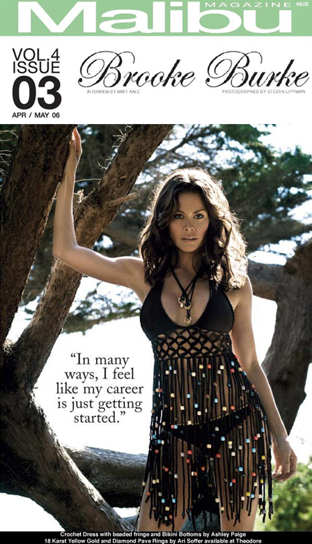 Brooke Burke for Malibu Magazine