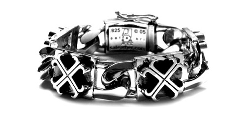 XL Perfect Collateral O.G. Cross Bracelet