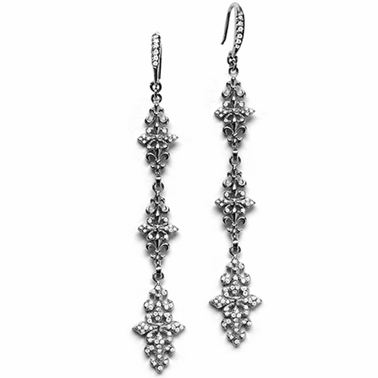 Trinity Fleur Chandelier Earrings