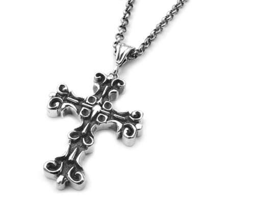 Medium Gambino Cross Pendant