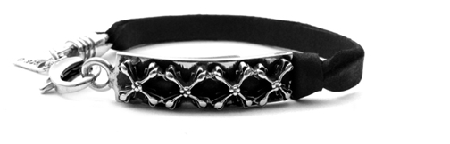 Tiny Waldorf S.A. Crosses Leather Bracelet