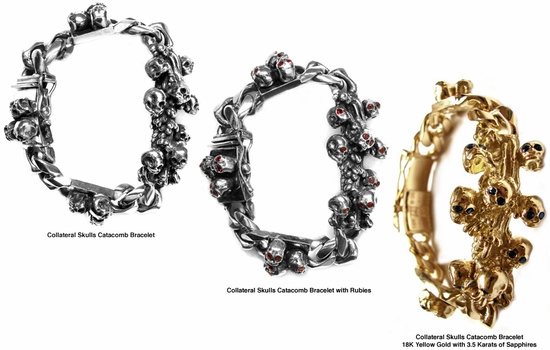 Collateral Skulls Catacomb Bracelets