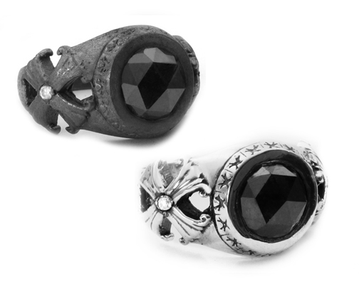 Scarfo Black Diamond Ring