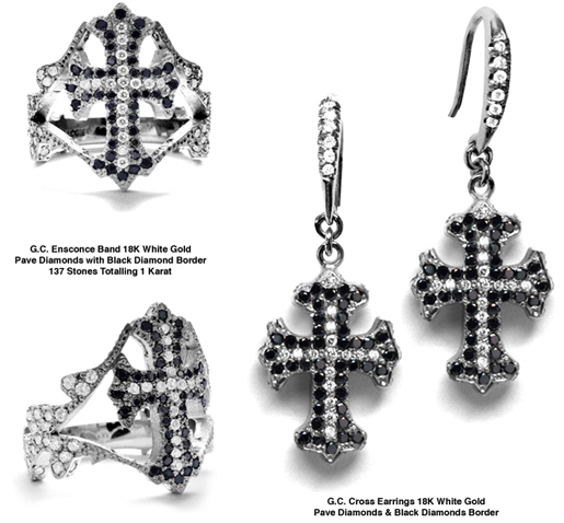 G.C. Cross Earrings