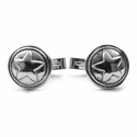 Star Cufflinks Sterling Silver
