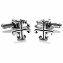 Small O.G. Badge Cufflinks Silver
