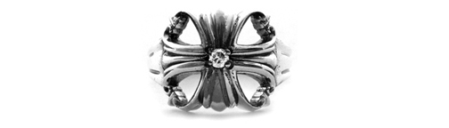 Dainty Morphine Ferry Ring Lonely Diamond Center