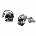 Dainty Skull Earrings
