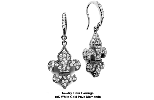 Tawdry Fleur Earrings