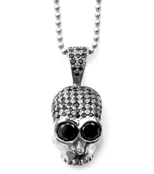 Large Dont Fuck Around Winter Hill Skull Pendant