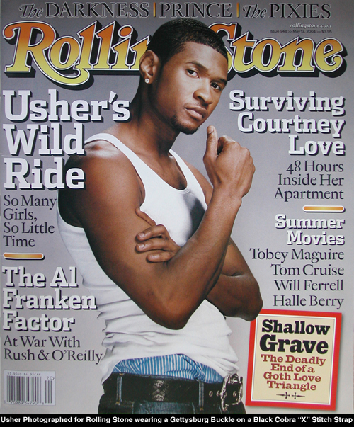 Usher for Rolling Stone