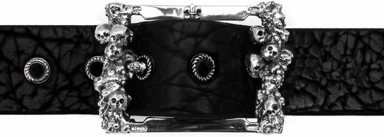 Catacomb Buckle Sterling Silver