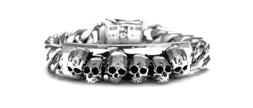 Dont Fuck Around Skull Bracelet