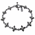 Tiny N.C. Badge Kamilot Toggle Bracelet