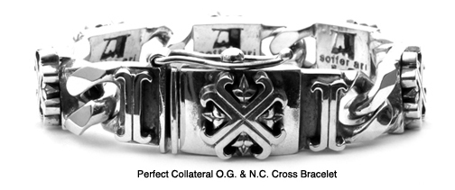 Perfect Collateral O.G. & N.C. Cross Bracelet