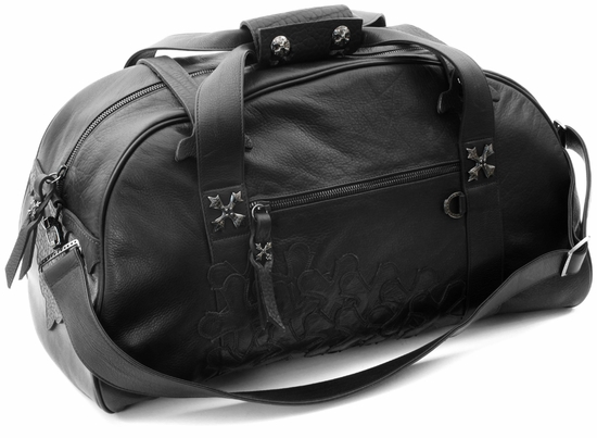 Large Duffel Preferable N.C. Silver with Black Rhodium Finish