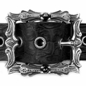 Glory Parish Buckle with Black Diamonds