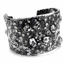 Vieux Carre Red Fellas White and Black Diamond Cuff
