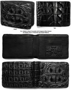 Crocodile Wallet with Chain