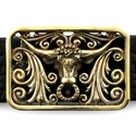 Bernardo the Bull Provenzano Buckle Bronze