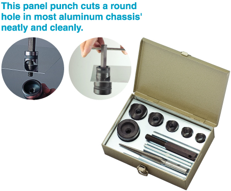 HOZAN K-83 Chassis Punch Set