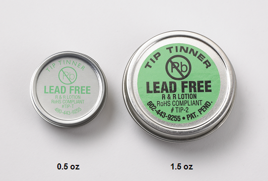 R&R LOTION Lead-free Tip Tinner, 1/2oz