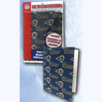 Team Logo Soft Book Cover - NFL St. Louis. Rams