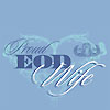 Light Blue EOD Wife T-shirt