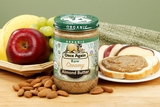 Organic Lightly Toasted Creamy Almond Butter (1 Pound Jar)