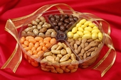 6-Section Almond Assortment Gift Tray