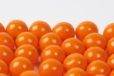 Orange Gourmet Gumballs (1 Pound Bag)