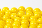 Yellow Gourmet Gumballs (28 Pound Case)