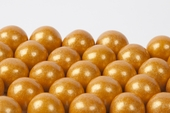 Gold Gourmet Gumballs (4 Pound Bag)