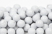 White Foiled Milk Chocolate Balls (25 Pound Case)
