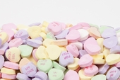 Conversation Hearts (25 Pound Case)