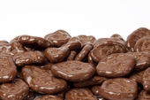 Milk Chocolate Covered Banana Chips (25 Pound case)