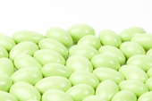Light Green Chocolate Jordan Almonds (10 Pound Case)