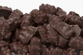 Dark Chocolate Covered Gummy Bears (25 Pound Case)