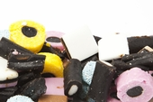 Licorice Allsorts Candy (25 Pound Case)