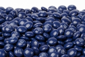 Dark Blue Milk Chocolate M&M's Candy (5 Pound Bag)
