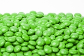 Green Milk Chocolate M&M's Candy (10 Pound Case)