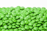Green Milk Chocolate M&M's Candy (25 Pound Case)