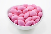 Pink Jordan Almonds (10 Pound Case)