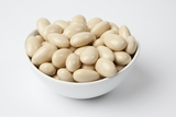 Ivory Jordan Almonds (25 Pound Case)